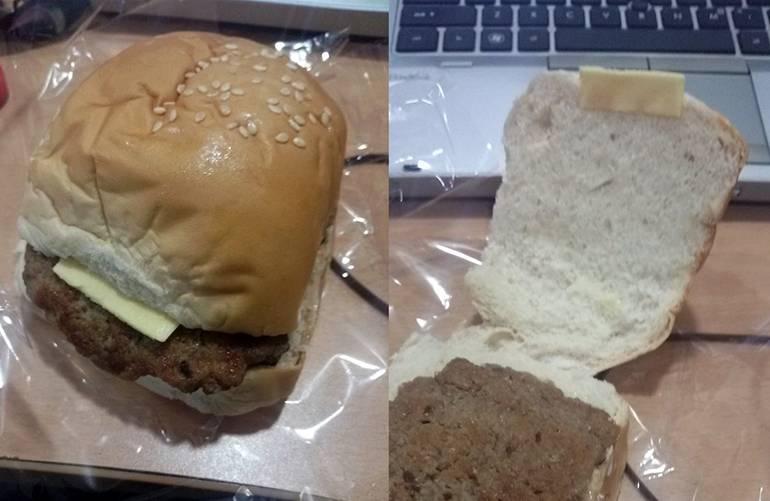 А еще назвали «Чиз»бургер...