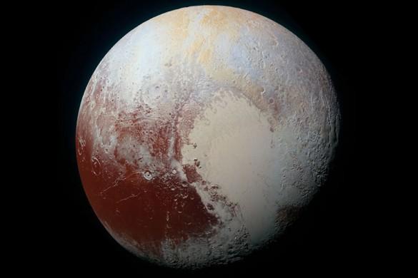 Фото Плутона высокого разрешения