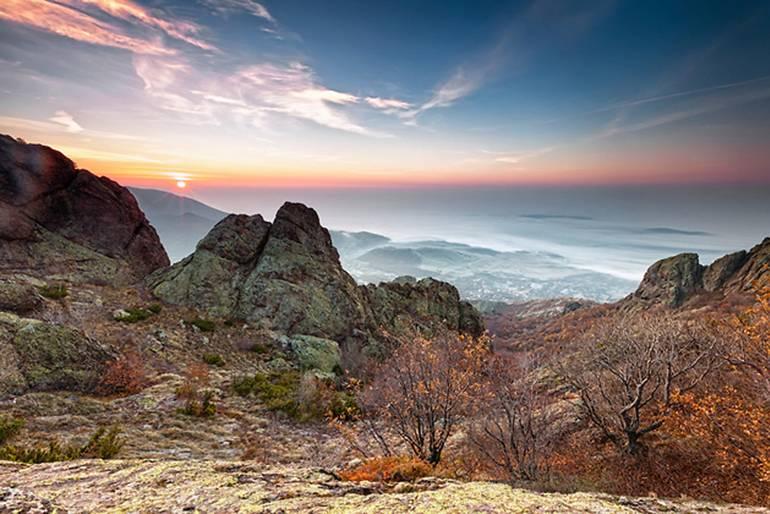 Природный парк «Сините Камыни»