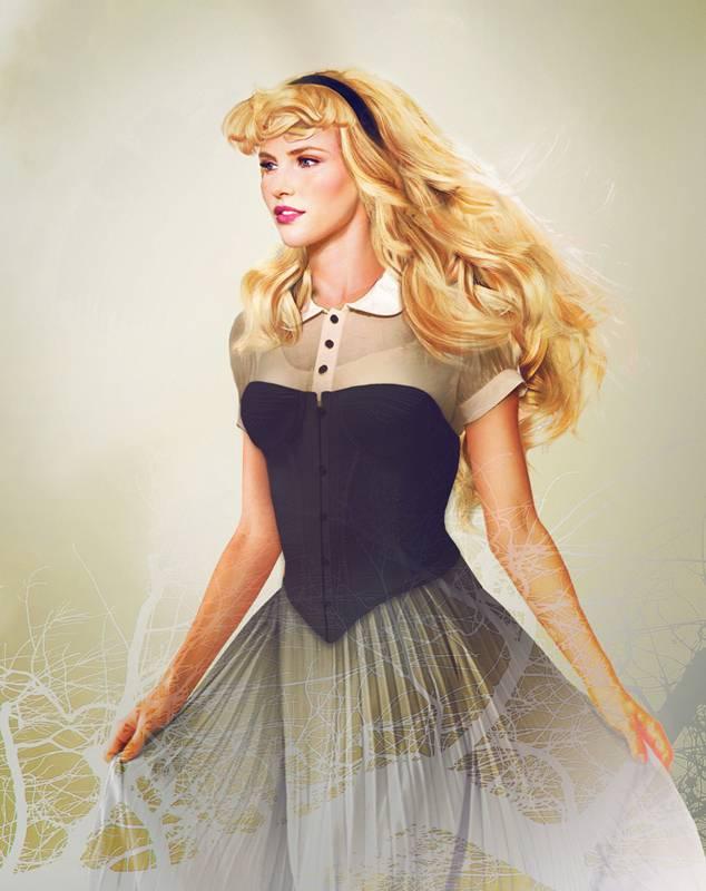 Принцесса Аврора из мультфильма «Спящая красавица»