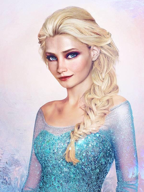 Королева Эльза из мультфильма «Холодное сердце»