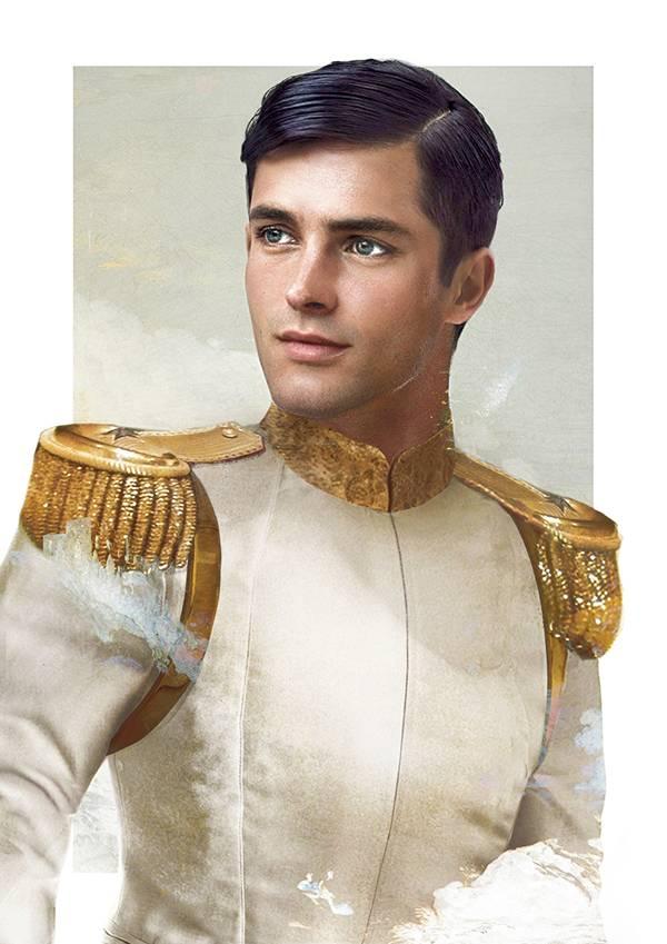 Прекрасный принц из мультфильма «Золушка»