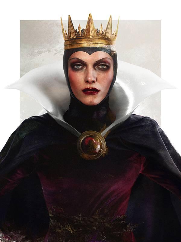 Злая королева из мультфильма «Белоснежка и семь гномов»