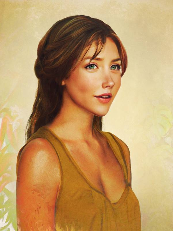 Джейн из мультфильма «Тарзан»