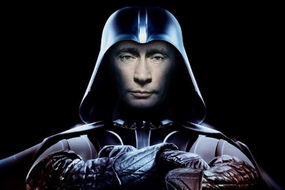 Путин исполняет Имперский марш
