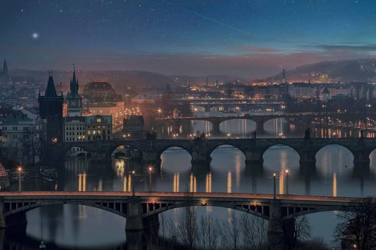 Знаменитые мосты Праги
