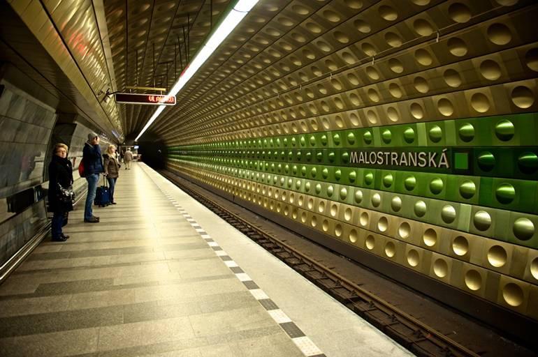 Метро в Праге, станция «Малостранска»