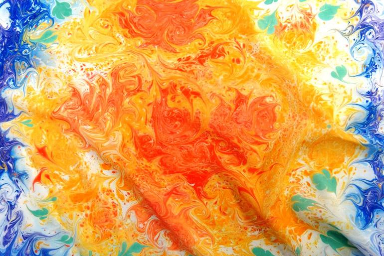 Эбру — волшебные рисунки на воде