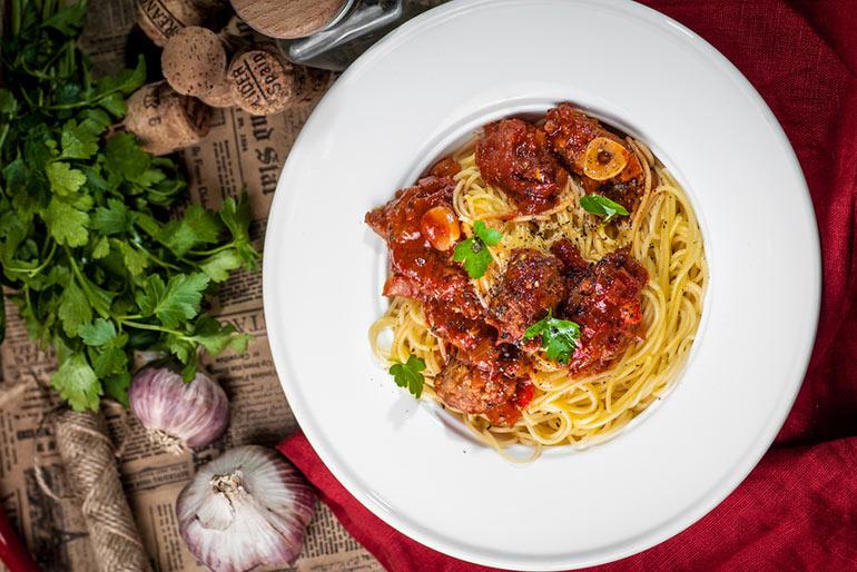 «Литературная кухня», «Крестный отец». Спагетти от Питера Клеменца.