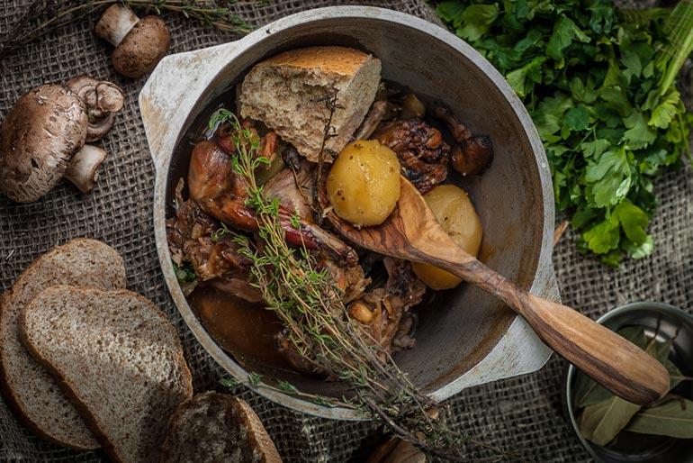«Литературная кухня», «Властелин колец», Кролик с травами