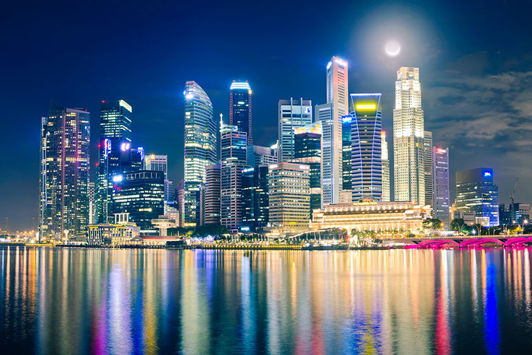 Сингапур: фонтан богатства