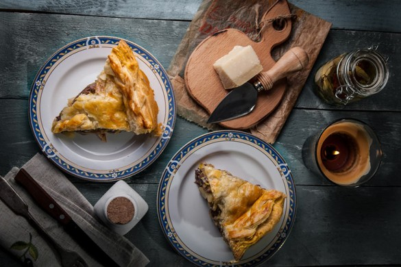 «Литературная кухня». «Пир Льда и Огня». Пирог с голубями.