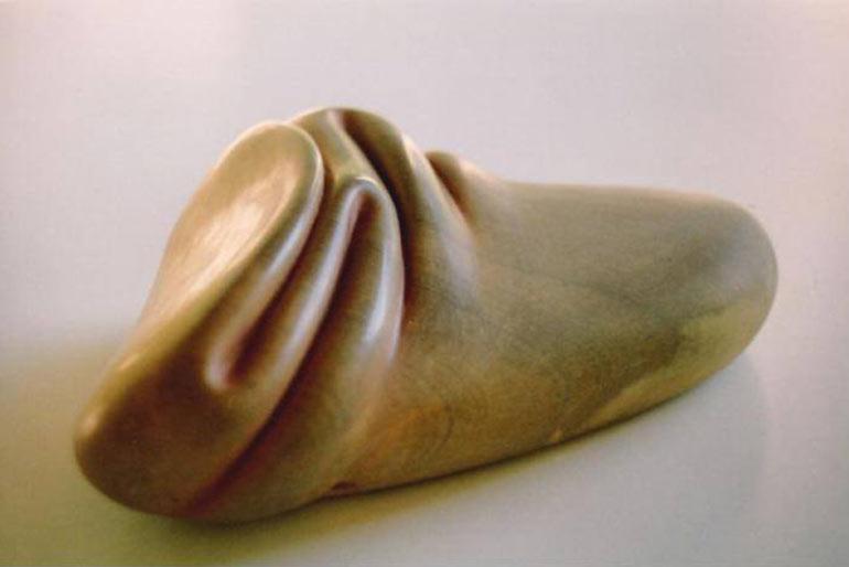 Скульптор плавит камни