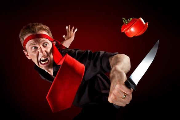 Когда ты с ножом на ты