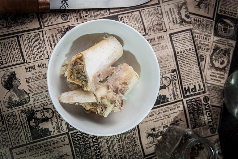 «Литературная кухня». «Собачье сердце». Горячая закуска пр. Преображенского.