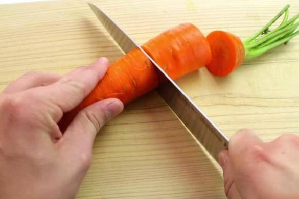 Невероятное мастерство нарезки морковки