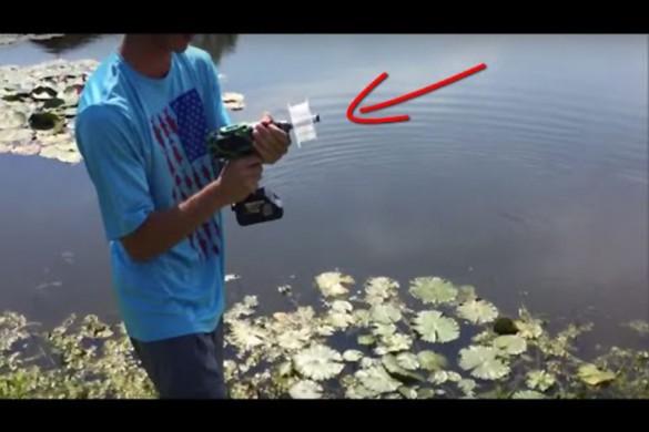 Самые странные способы рыбалки