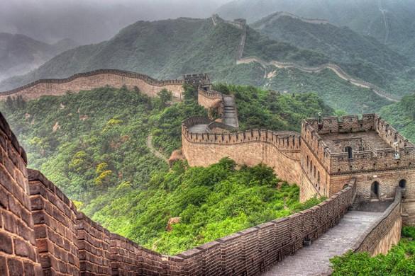 Великая Китайская Стена — самая известная достопримечательность в мире